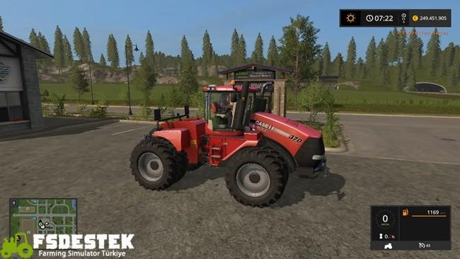 Photo of FS17 – Case IH Steiger 370 Traktör