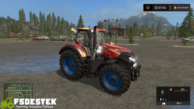Photo of FS17 – Case CVX Optum Turbo Racing Traktör V1