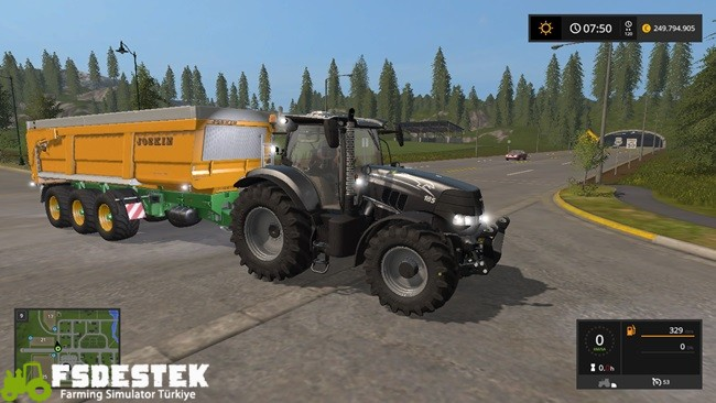 Photo of FS17 – Case Puma CVX Siyah Traktör V1