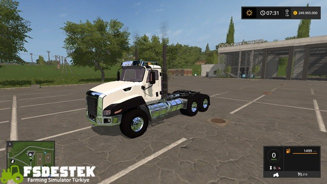 Photo of FS17 – Caterpillar CT660 V1