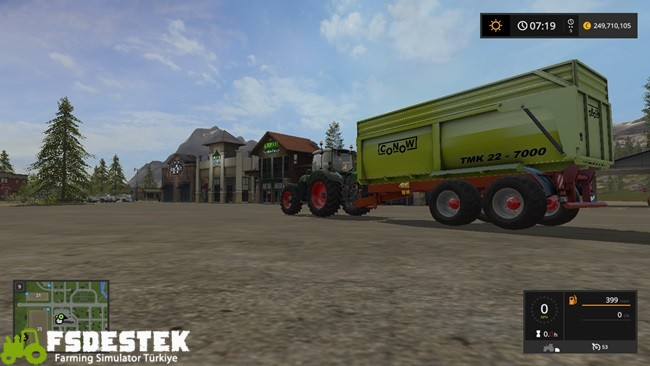 Photo of FS17 – Conow TMK 22-7000 Römork V1