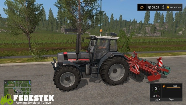 Photo of FS17 – Deutz The Anthracite Cat Traktör V2