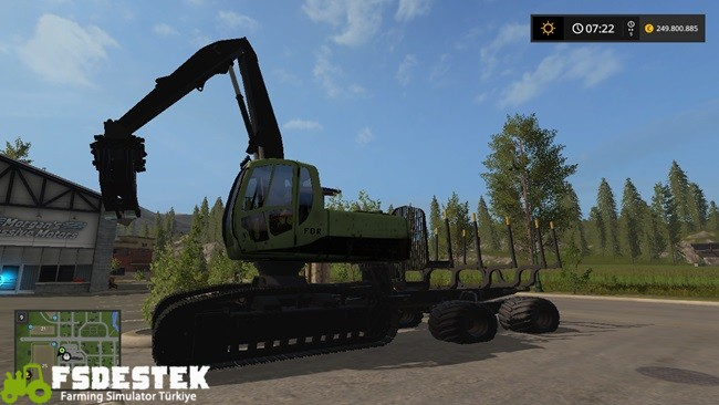 Photo of FS17 – FDR Logging Ekskavatör V1