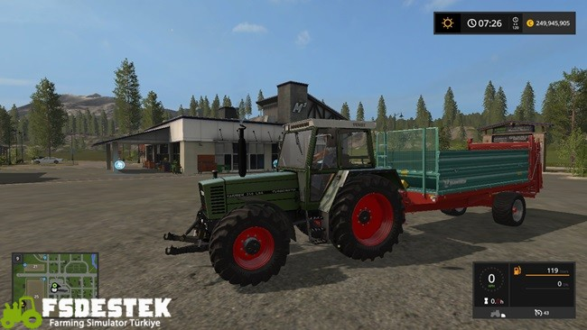 Photo of FS17 – Fendt Farmer LSA 300 Serisi Turbomatik