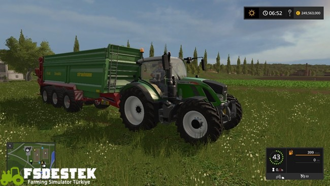 Photo of FS17 – Fendt 700 Vario Traktör V1.2