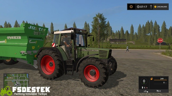 Photo of FS17 – Fendt Favorit 512C Traktör V1
