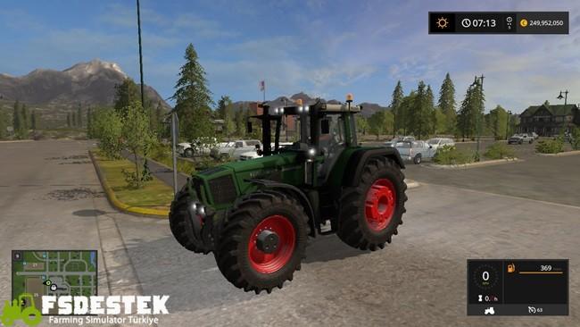 Photo of FS17 – Fendt Favorit 816 Traktör V3