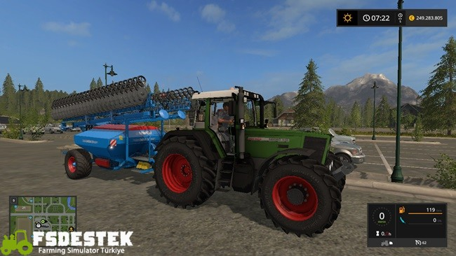 Photo of FS17 – Fendt Favorit 926 Vario Traktör V1