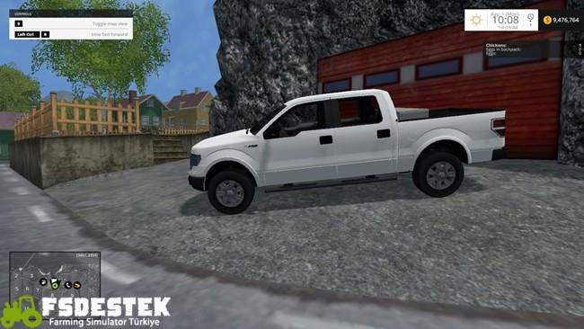 Photo of FS15 – Ford F150 Pick-Up Yaması V1