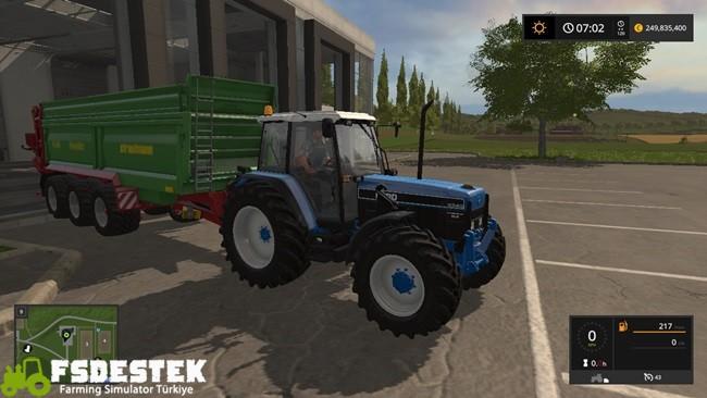 Photo of FS17 – Ford 8340 Traktör Yaması V1.1
