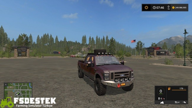 Photo of FS17 – Ford F250 King Ranch Pick-up Yaması