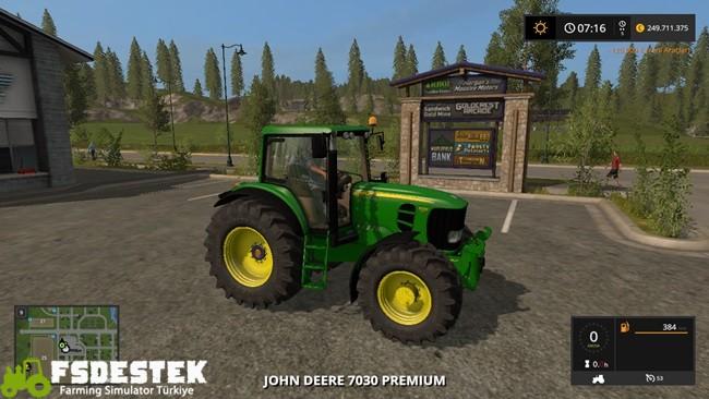 Photo of FS17 – John Deere 7530 Amerikan Traktör
