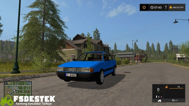 Photo of FS17 – Audi A80 Araba Modu