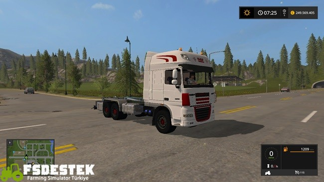 Photo of FS17 – Daf XF Hakenlift Kamyon
