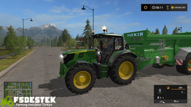 Photo of FS17 – John Deere 6115M Traktör V1