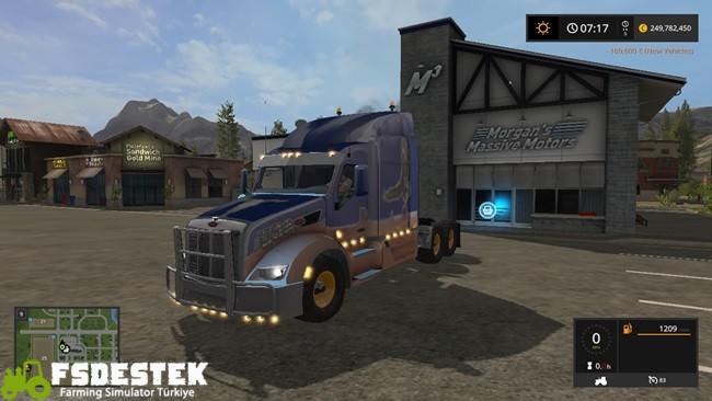 Photo of FS17 – Peterbilt 579 V1