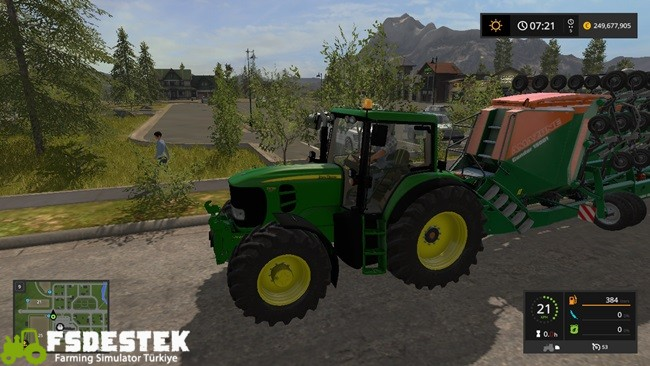 Photo of FS17 – John Deere 7030 Premium Traktör V1