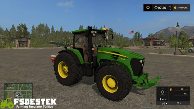 Photo of FS17 – John Deere 7930 Traktör V1