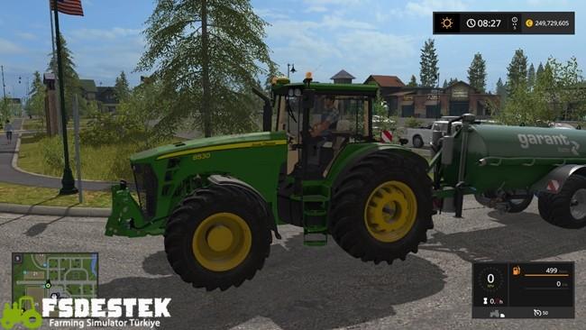 Photo of FS17 – John Deere 8530 Traktör V1