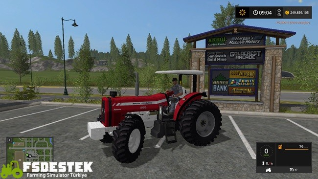 Photo of FS17 – Massey Ferguson 299 Traktör V1
