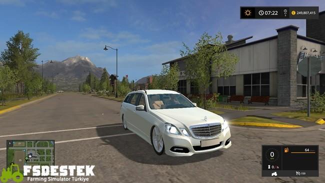 Photo of FS17 – Mercedes Benz E350 Araba Yaması V1