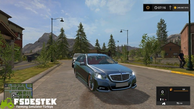 Photo of FS17 – Mercedes E350 CDI Araba Modu