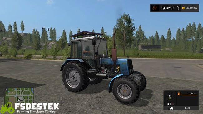 Photo of FS17 – Belarus MTZ 1025 Traktör V1.1