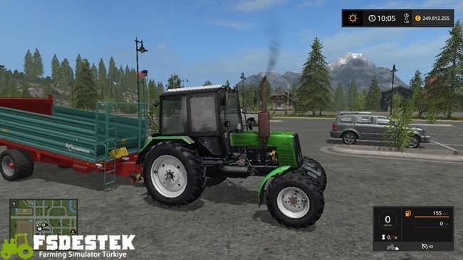 Photo of FS17 – Belarus MTZ 1025 Traktör V1.4