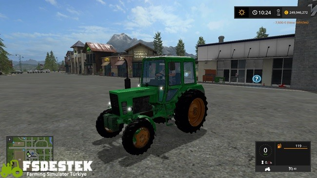 Photo of FS17 – MTZ 82 Traktör V2