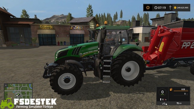 Photo of FS17 – New Holland T8 Yeşil Traktör V1