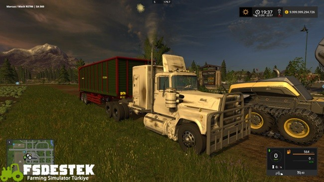 Photo of FS17 – Rubberduck Mack Tır Yaması V1