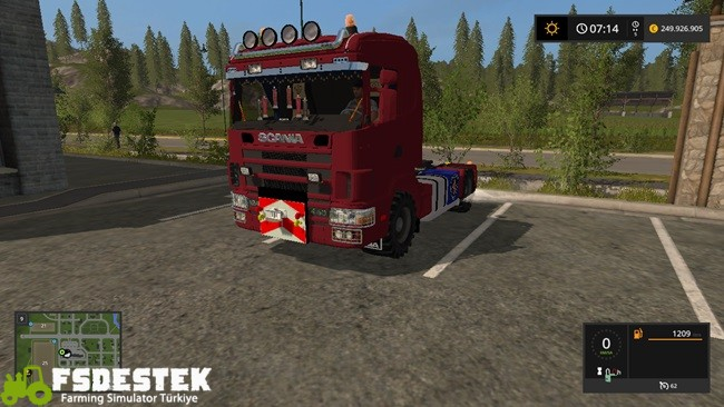 Photo of FS17 – Scania 144L Agrar Kamyon V1