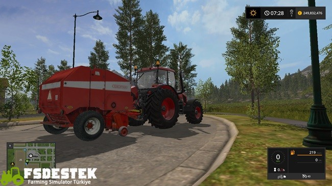Photo of FS17 – Sipma Z279 Kırmızı Balya Makinası