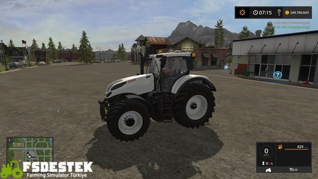 Photo of FS17 – Steyr CVT Terrus BW Traktör V1