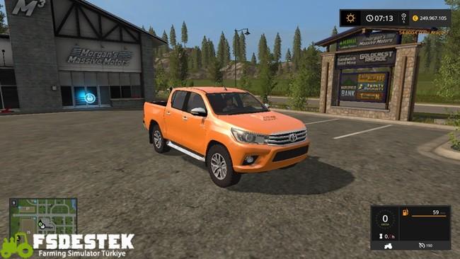 Photo of FS17 – Toyota Hilux Pick-up Yaması