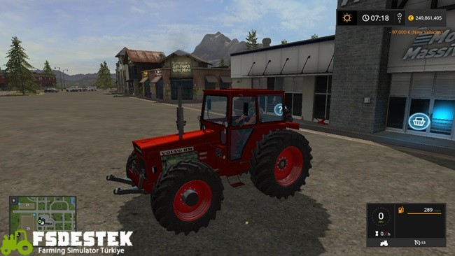 Photo of FS17 – Volvo BM 810 Traktör