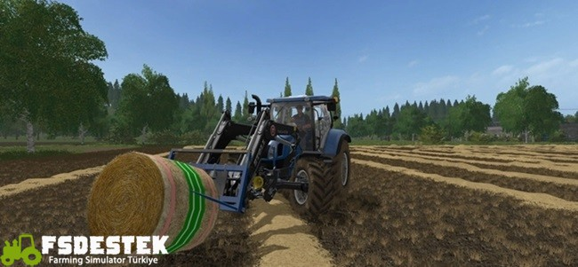 Photo of FS17 – Yuvarlak Saman Balya Dokusu V1.2