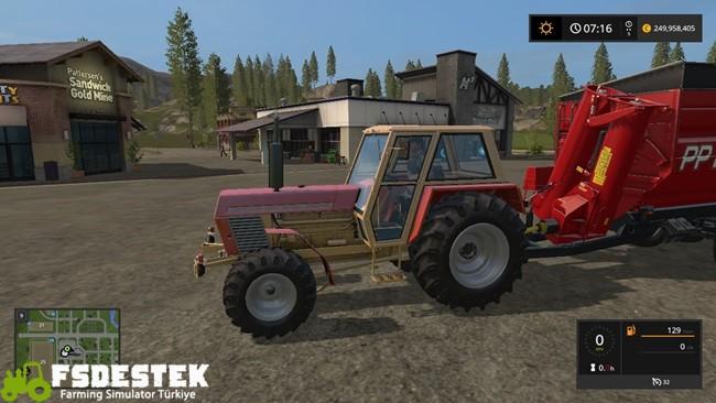 Photo of FS17 – Zetor Crystal 120 45 Traktör