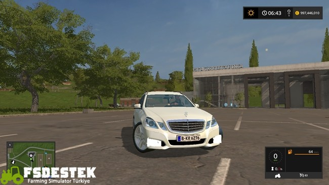 Photo of FS17 – Mercedes-Benz E350 CDI Araba Yaması V1