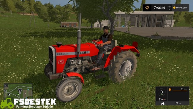 Photo of FS17 – Uzel 240 S Turbo Türk Traktörü