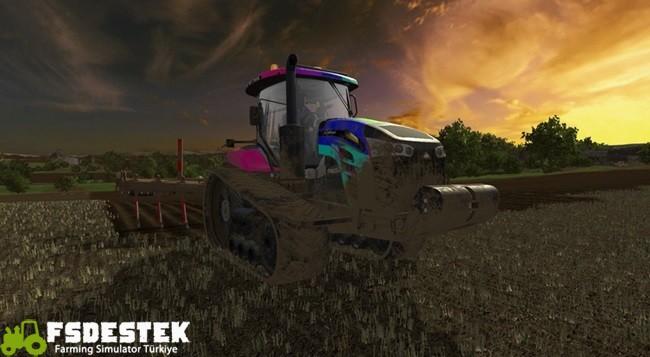 Photo of FS17 – Challenger MT700E Traktör V1.1