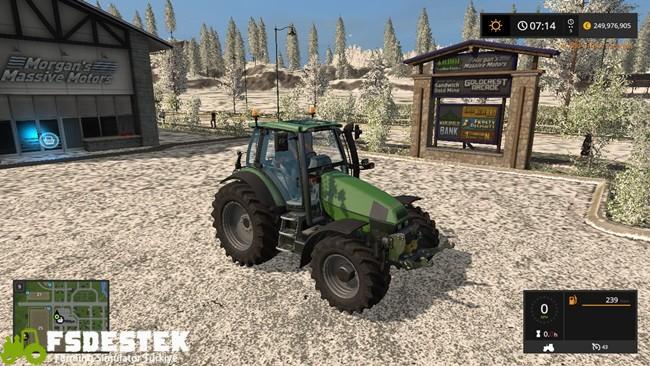 Photo of FS17 – Deutz-Fahr 120 MK3 Traktör V 1.17