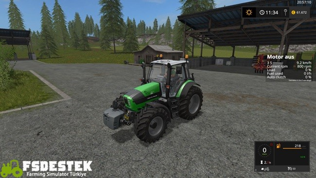 Photo of FS17 – Deutz-Fahr 6 Serisi Traktör V2 Beta