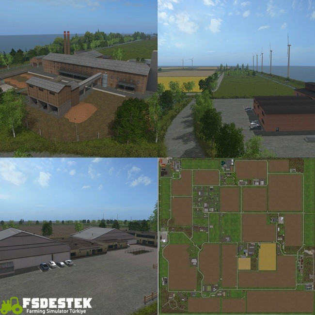 Photo of FS17 – Frisian March Çiftlik Haritası V1.2