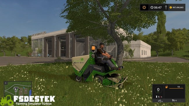 Photo of FS17 – Amazone Profihopper Ot Biçme Makinası V1