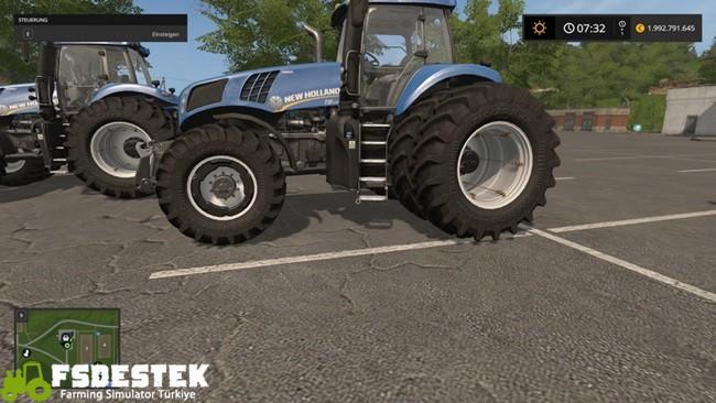 Photo of FS17 – NewHolland T8 Modifiyeli Traktör V1