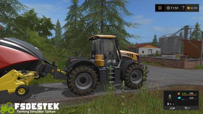 Photo of FS17 – JCB 3000 Traktör V1