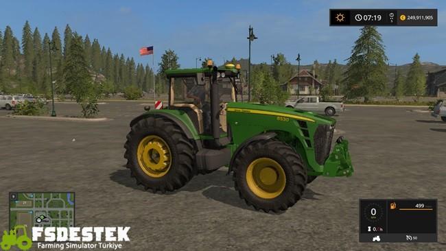 Photo of FS17 – John Deere 8530 Traktör V2