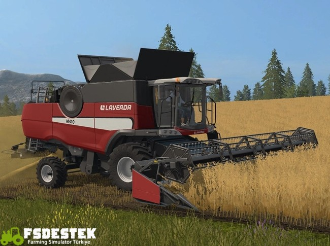 Photo of FS17 Laverda M410 Biçer Döver