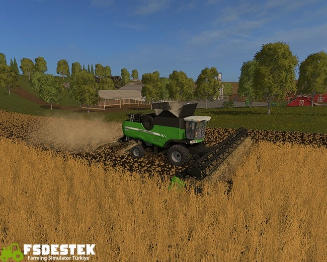 Photo of FS17 – Massey Ferguson 9380 Biçer Döver V1